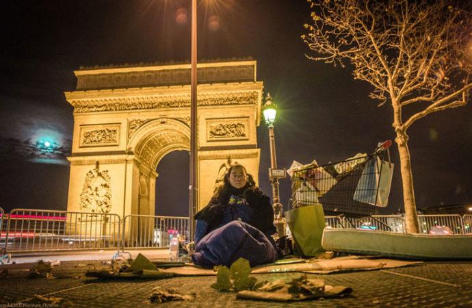 Encuentros bajo el cielo de París