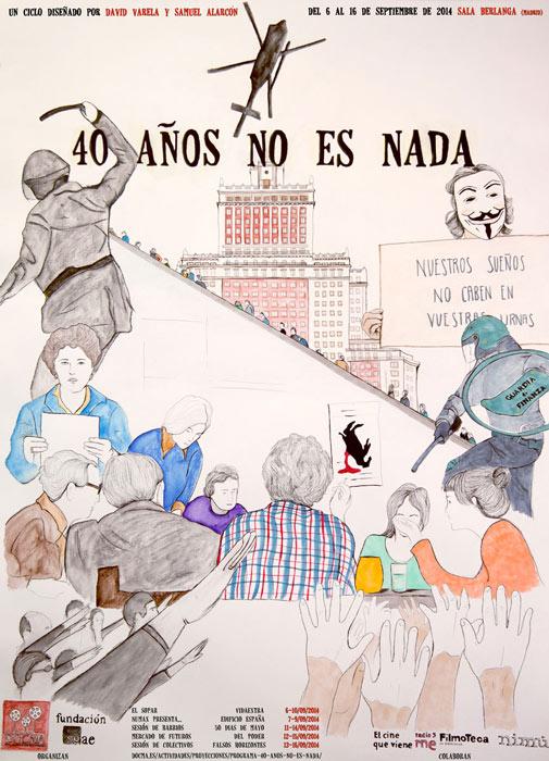 40 AÑOS NO ES NADA por Nimú Ilustración