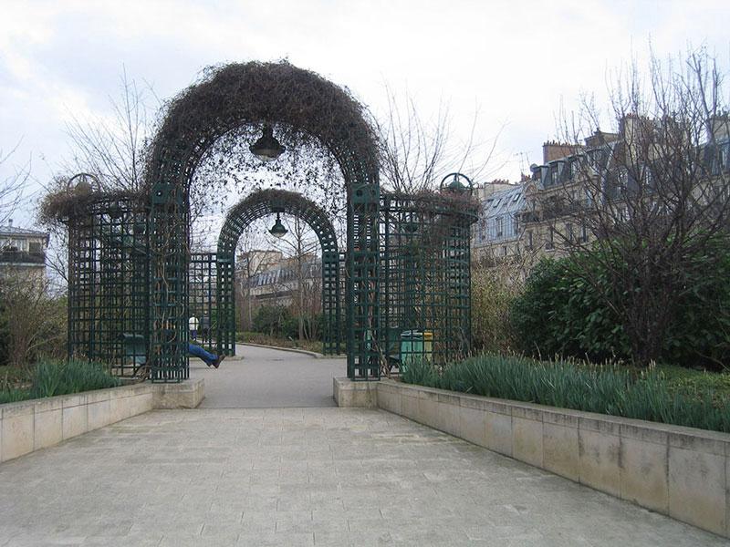 Treilles à la parisienne