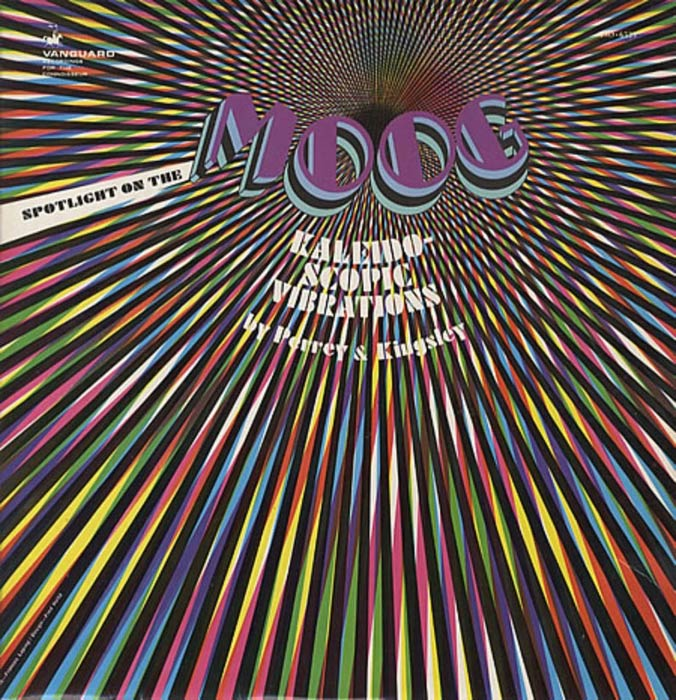 "Portada Perrey Kingsley ""Kaleidoscopic Vibrations: Spotlight on the Moog"""
