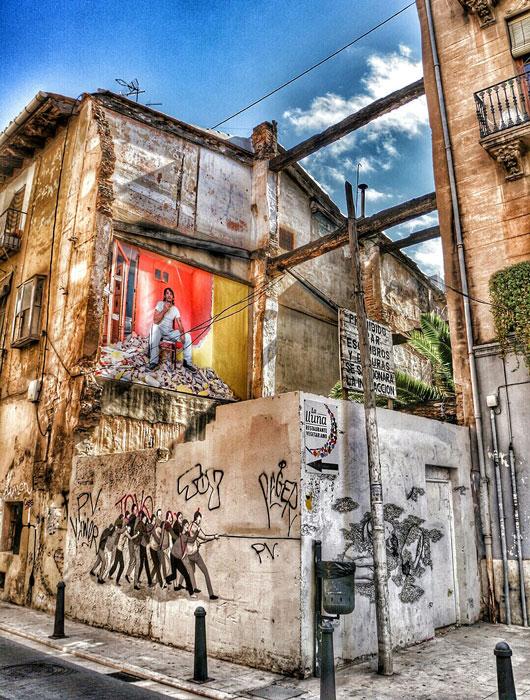 Un rincón característico del barrio del Carmen. Foto: Jorge Marco.