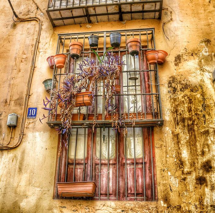 Ventana del barrio del Carmen. Foto: Jorge Marco.