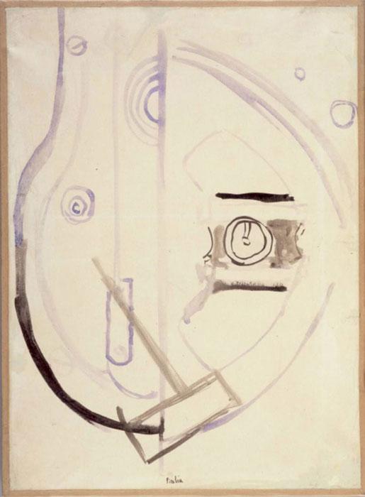 Dessin mecanique. Francis Picabia