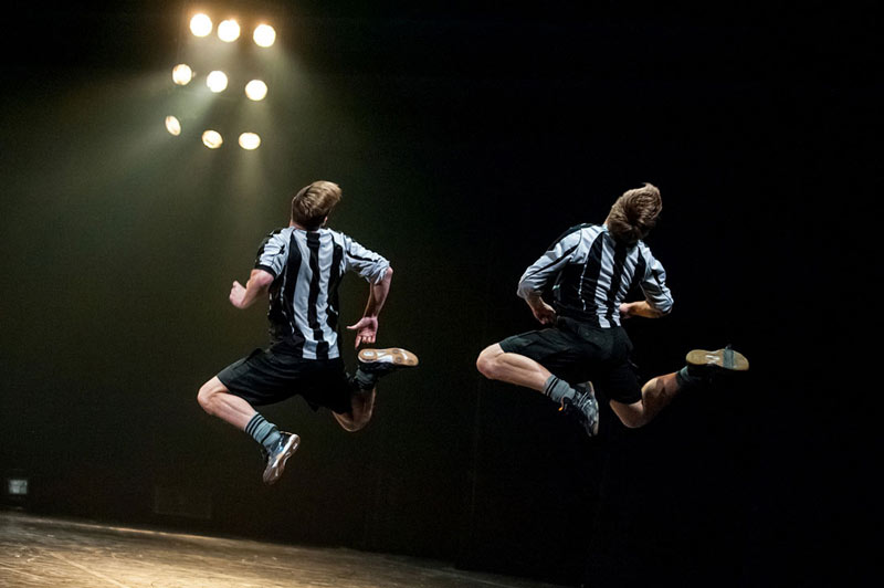 A Dance Tribute to the Art of Football