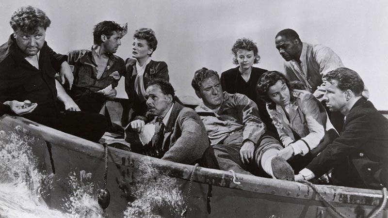 Náufragos (Alfred Hitchcock, 1944)
