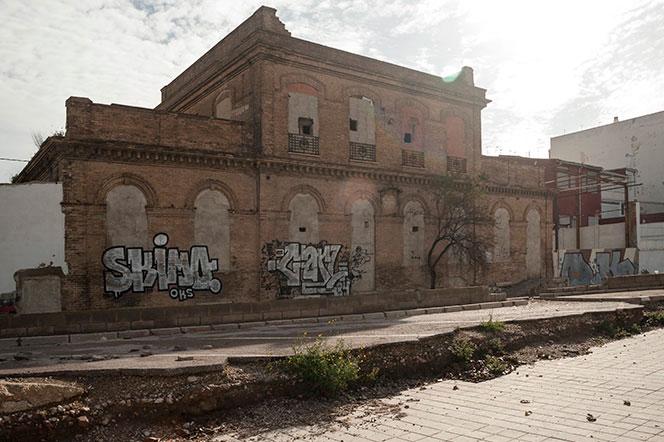 Estación ferroviaria de Nazaret. Foto: Juanjo Hernández