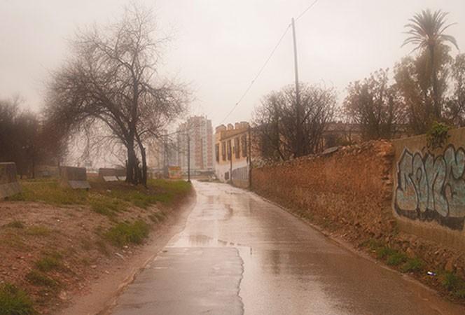 A la derecha, la Alquería La Torre en Ciudad Fallera @Juanjo Hernández