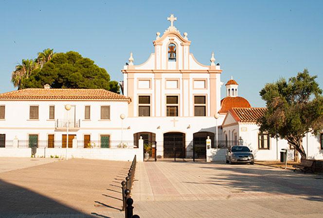 Iglesia de la parroquia de la Inmaculada de Vera, en el barrio de la Malva-rosa. Foto: Juanjo Hernández