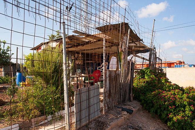 Huertos urbanos en la salida de Mislata hacia el viejo cauce del turia. Foto Juanjo Hernández