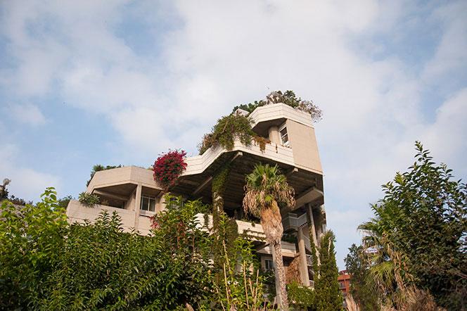 El edificio de viviendas Espai Vert visto desde el lado Norte de Benimaclet. Foto: Juanjo Hernández