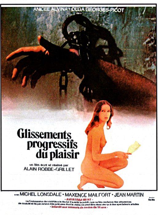 DESLIZAMIENTOS PROGRESIVOS DEL PLACER (Glissements progressifs du plaisir, Alain Robbe-Grillet, 1973)