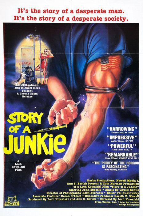 Historia de un junkie (Lech Kowalski, 1987)