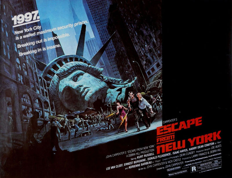 1997: Rescate en Nueva York (John Carpenter, 1981)