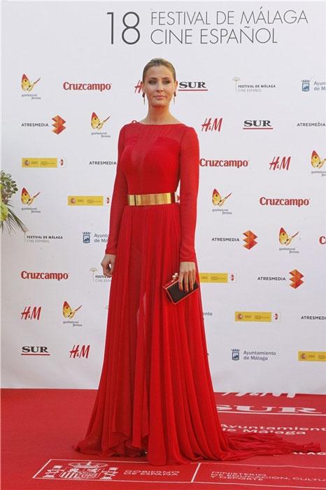 Todo el mundo coincidió en lo justificada que estaba la presencia en el Festival de Cine Español de Málaga de Elisabeth Reyes, exitosa actriz de fulgurante carrera internacional Miss España 2006.