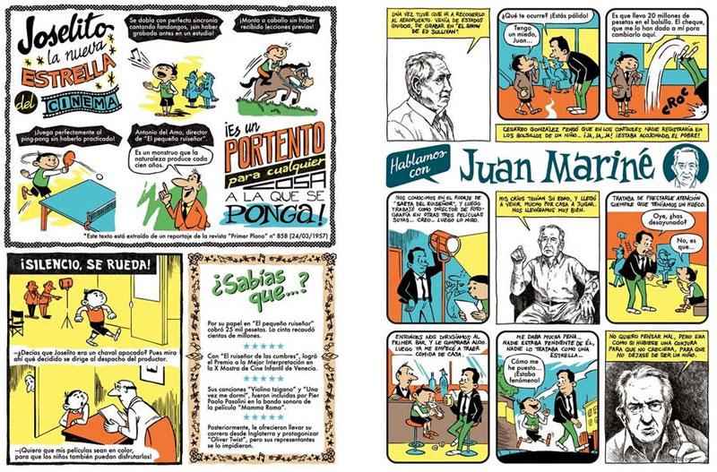 La vida de Joselito, según el dibujante José Pablo García