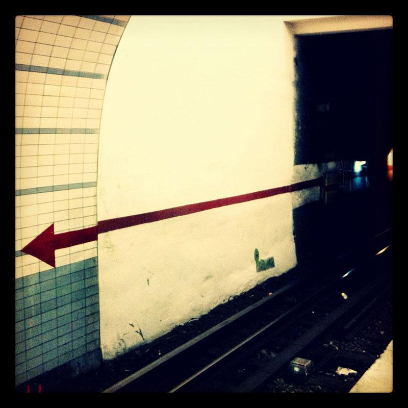 Dans le métro ©Nacho Carbó