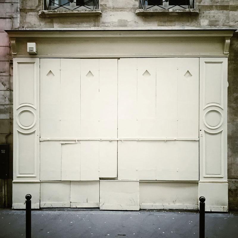 Les volets de Paris ©Nacho Carbó