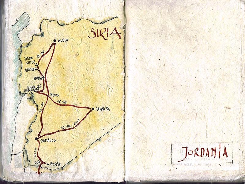 Cuaderno de viaje del autor.