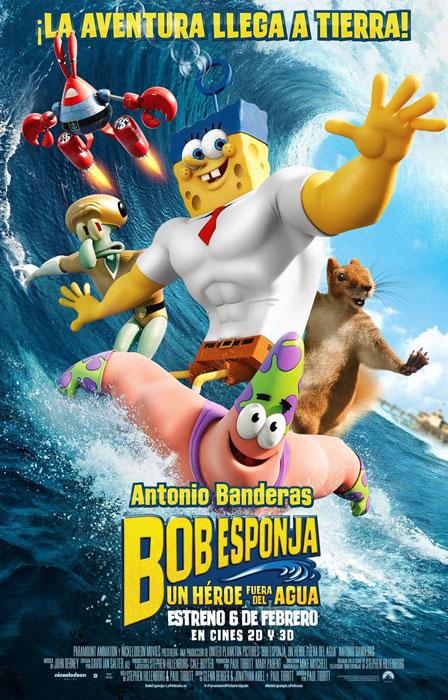 Bob Esponja. Un héroe fuera del agua (Paul Tibbitt, Mike Mitchell, 2015)