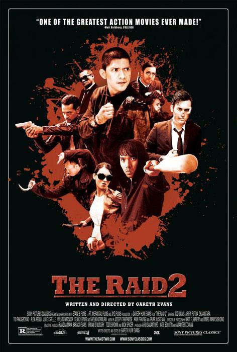 Redada asesina 2 (Gareth Evans, 2014)
