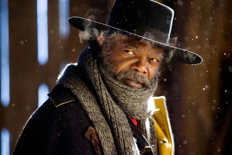 """Samuel L. Jackson en """"Los odiosos ocho"""""""