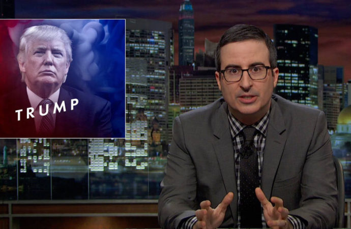 Por qué John Oliver no estuvo a la altura con Donald Trump