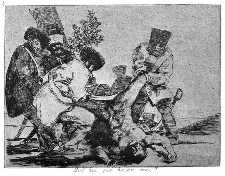 Goya. Guerra