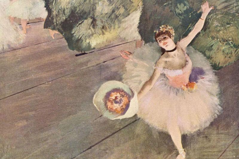 Así captó Degas a Roseta Mauri en 1880