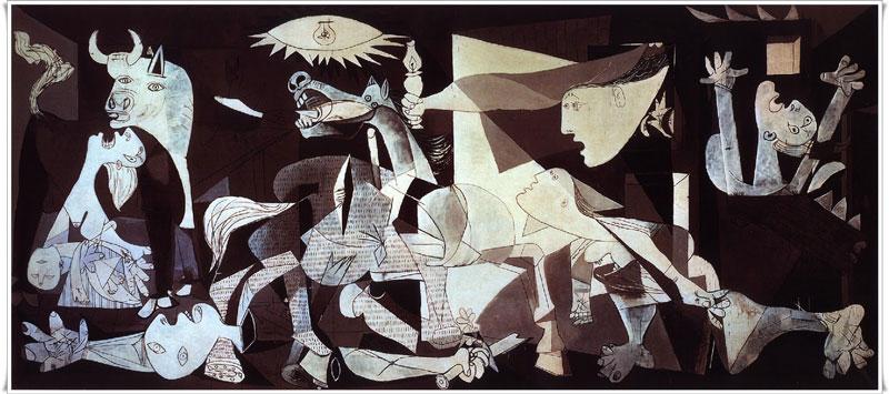 El Guernica no es una obra bella, es una denuncia genial.