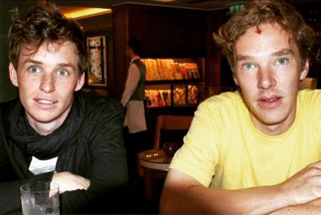 Eddie Redmayne y Benedict Cumberbatch