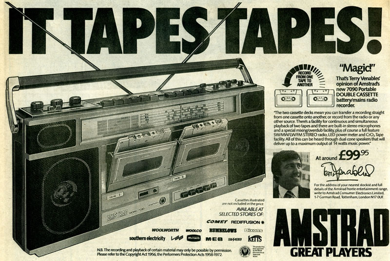 Twin cassette recorder