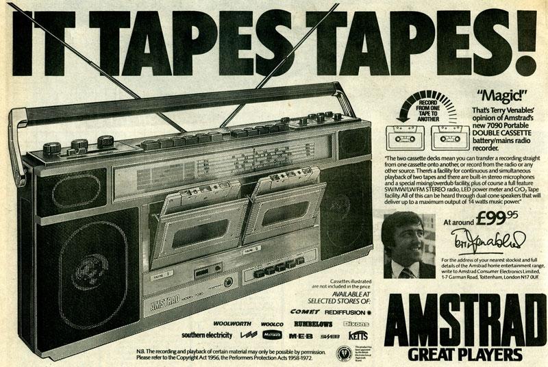 Twin cassette recorder