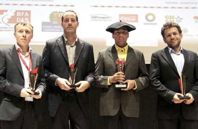 Anand triunfó en Bilbao