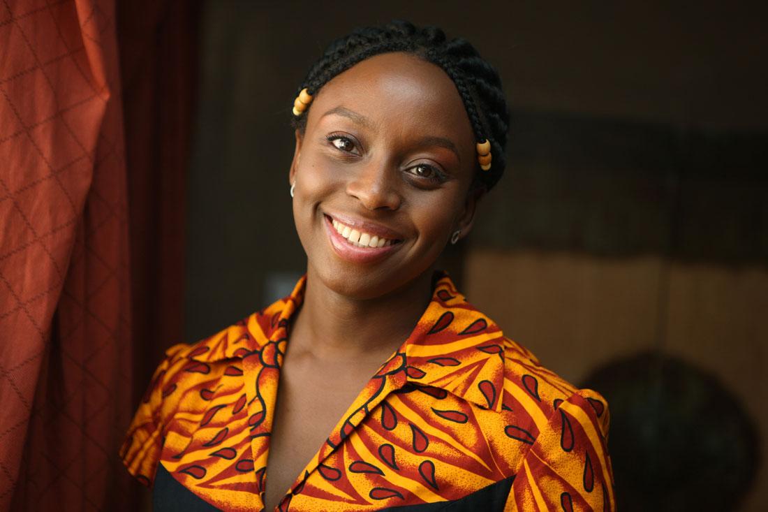 Mujer africana en América