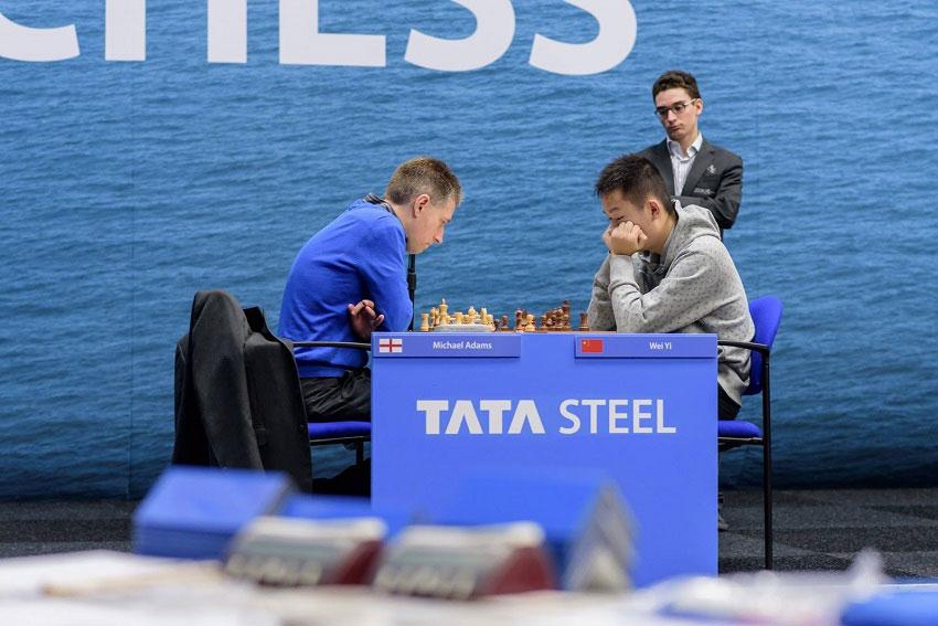 ajedrez-caruana-adams-wei-yi-tata-steel-elhype