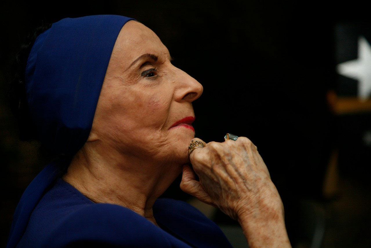 Alicia Alonso en una foto reciente