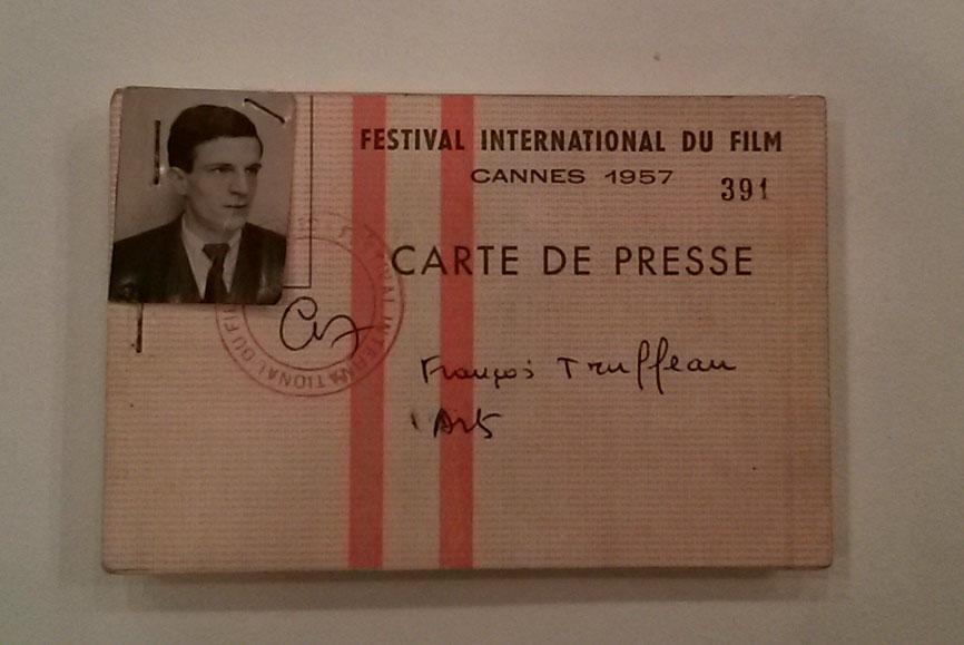 Truffaut también cubrió Cannes como un joven crítico, al que ni siquiera le escribían bien el apellido. © Pamela Biénzobas.