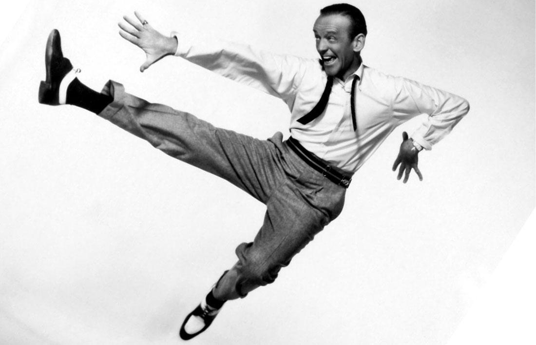 Fred Astaire en acción