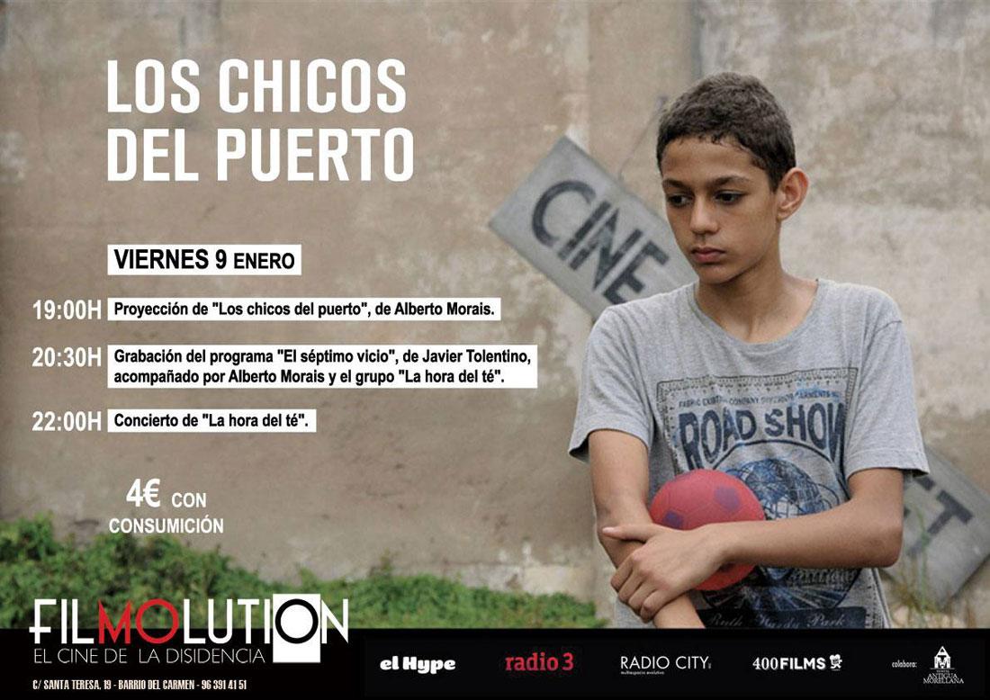 II edición de FILMOLUTION  «Los chicos del puerto»