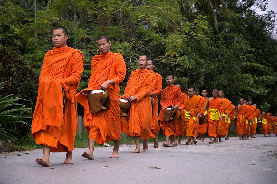 Amanece en Luang Prabang