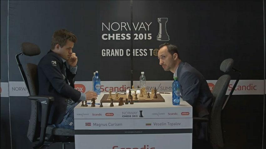 Carlsen-Topalov: una partida dramática