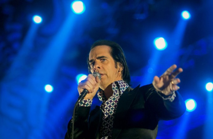 Nick Cave and The Bad Seeds. Foto: Mohai Bálasz (szigetfestival.com)