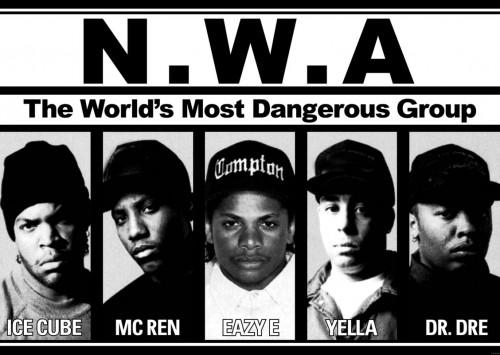 N.W.A. Negratas cabreados