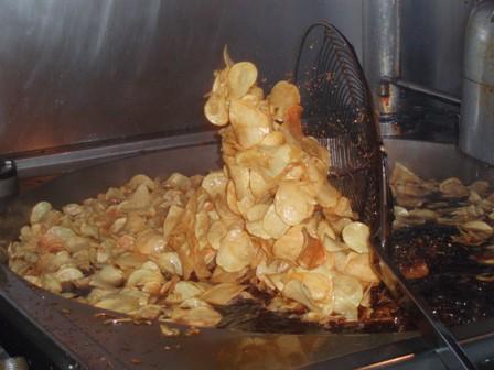 Patatas fritas de churrería