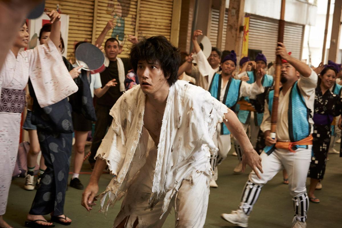 Ten no chasuke (Chasuke's Journey) © Bandai Visual, Shochiku and Office Kitano