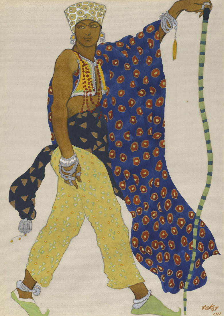 The Pilgrim, 1922. Léon Bakst