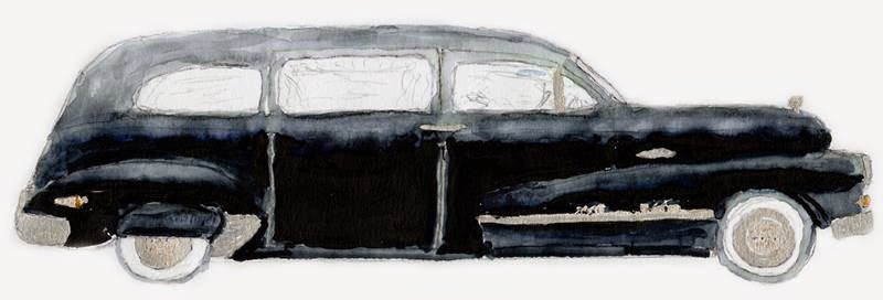 1948. Buick Roadmaster Hearse