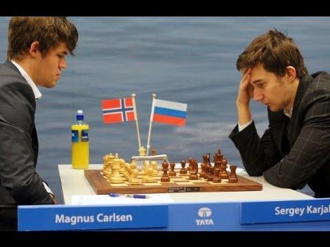 Carlsen y Karkajin