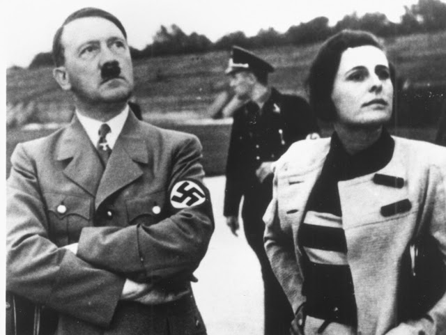 Adolf Hitler y Leni Riefenstahl