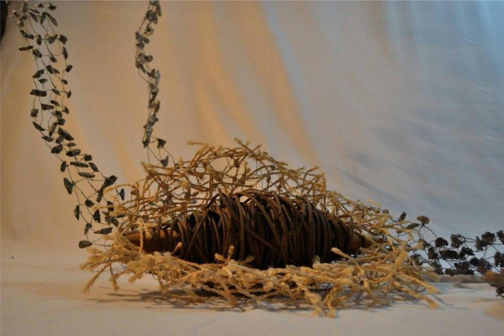Obra de Xussa Catal incluida en la exposición